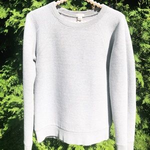 💛 J. Crew Sweater Gray Medium M